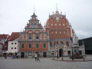 Blackheatpalast Riga