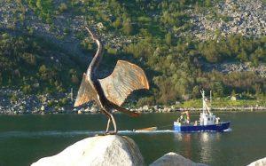 Kunst und Schiff