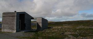 Toilette in Fjell